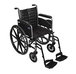 "Tracer EX2 Wheelchair Seat Size: 20"" W x 16"" D , Arm Type: R"