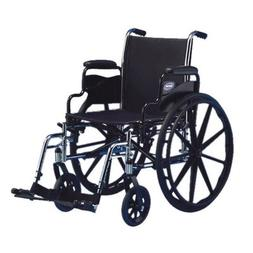 "Tracer SX5 Lightweight Manual Wheelchair Seat Size: 18"" W x"