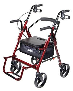 Transport Chair and Rollator in 1 XL