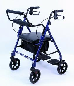 Transport Rollator Wheelchair Walker With Seat and Wheels