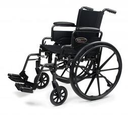 Traveler L4 Wheelchair - Seat Size: 20 x 16, Legrest: Swinga