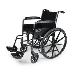 Traveler SE Wheelchair - Seat Size: 18 x 16, Legrest: Swinga