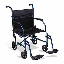 Walgreens Ultra-Light Weight Transport Chair, Burgundy, 1 ea