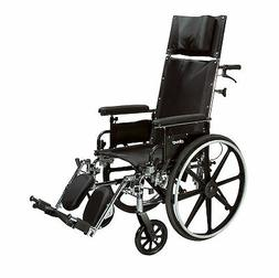 Drive Medical Viper Plus GT Reclining Wheelchair with Full A