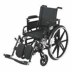 Drive Medical Viper Plus GT Wheelchair with Removable Flip B