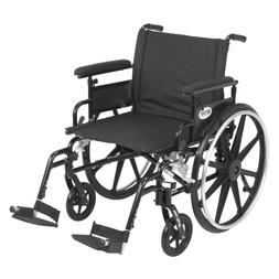 Drive Medical Viper Plus GT Wheelchair with Flip Back Remova