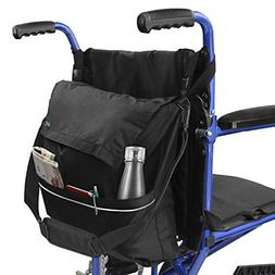 Wheel Chair Storage Tote Accessory for Carrying Loose Items