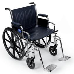 "WHEELCHAIR,EXCEL,20"",RDLA,S/A FOOT,NV"