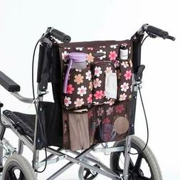 Wheelchair Back Walker Bag Walker Rollator Scooter Accessory