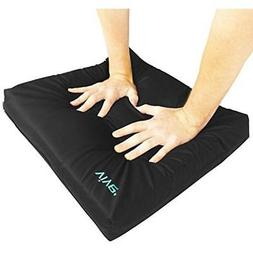 "VIVE Wheelchair Cushions Cushion Gel Seat Pad 16"" x 18"" x 3"""
