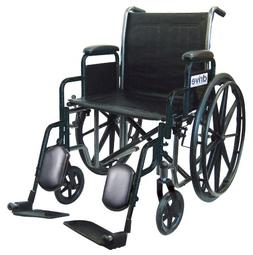 Drive Medical Wheelchair with Removable Desk Arms, Swing Awa