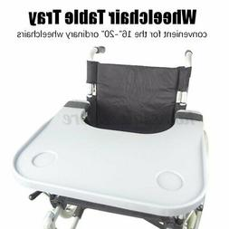 Wheelchair Lap Tray Table Accessories w/ Cup Holder Portable