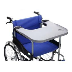 wheelchair lap tray table accessories with cup