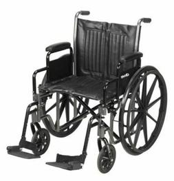 Wheelchair McKesson Padded, Removable Arm Style Composite Wh
