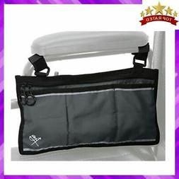 Pembrook Wheelchair Side Bag - Gray - Great Accessory for yo