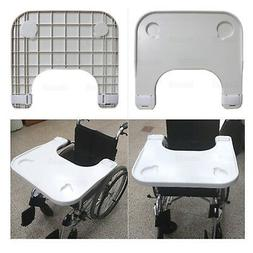 Wheelchair Tray Table with Cup Holder Medical Portable Lap T
