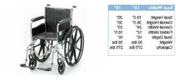 Wheelchairs | Nova Ortho-Med 5000 Series Wheelchairs