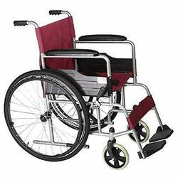 Yuwell Widen Seat Self-propelled Wheelchair with Soft Seat